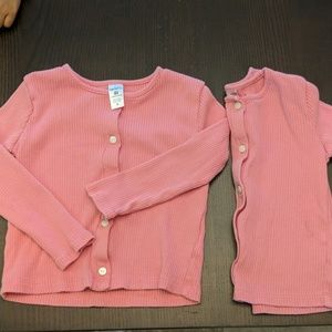 Carter's 4T Button Up Long Sleeve Shirt (two)